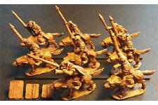 15mm Fantasy Orcian Wolf Cavalry with Spears Heavily Armored (16 figures)