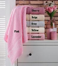 6 pack Turkish Towels Set, Turkish 100% Cotton - Washcloth Hand Bathroom Towel