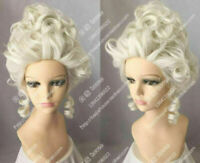 Aristocracy Queen Fashion Wig Marie Antoinette Cosplay Party Wig