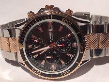 Sekonda Mens Black Dial Chronograph Watch 1089