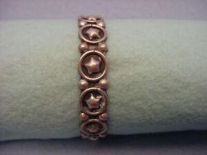 Vintage Sterling Mexico Cuff Bracelet Sterling