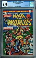 AMAZING ADVENTURES 25 CGC 9.8 WP HIGHEST GRADED 1 of 4 WAR OF THE WORLDS MARVEL