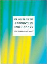 Principles of Accounting and Finance-ExLibrary