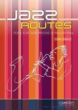 Jazz Routes for Eb Sax & Piano- Grade: 1 - 6; Malcolm Miles, CM238