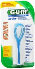 GUM Eez-Thru Floss Threaders 840 25 each