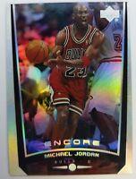 MICHAEL JORDAN 1998 UPPER DECK ENCORE #108 HOLOFOIL REFRACTOR LIKE CARD BULLS MJ
