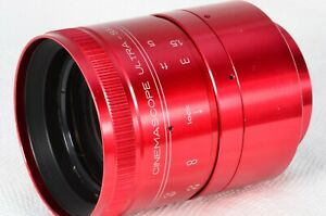 Isco Anamorphic Red Ultra-Star 2x Cinemascope Adapter Lens TESTED Sample 7147