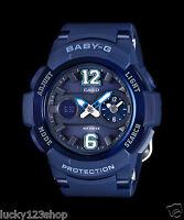 BGA-210-2B2 Blue Casio Baby-g Lady Watches Resin G-Lide Women Band New