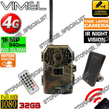 Hunting Camera 4G 3G Security Remote View Game House Solar Power Farm Home SPY