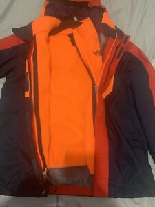 boys north face jacket size 10/12