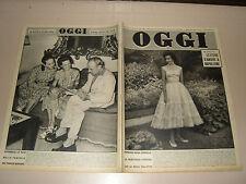 OGGI=1955/29=SAVOIA=VIVIEN LEIGH=MARY PICKFORD=TULLINS=EMILIO FEDERICO SCHUBERTH