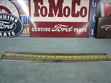 1953 1954 Ford 2 Door Front Seat Back Stainless ( L & R )
