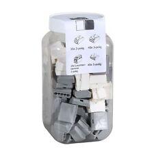 ViD Steckklemmen I Verbindungsklemmen GRAU- Box 1 - 2,5 mm² 130 Stück
