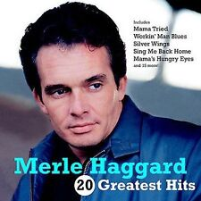 20 Greatest Hits by Merle Haggard (CD, Feb-2002, Capitol)