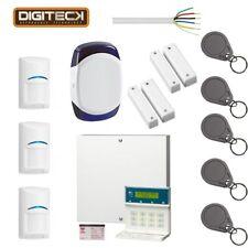 Scantronic 9651EN43 Alarm System LCD Keypad, 3 Bosch PIR's, 5 Fobs, Sounder...