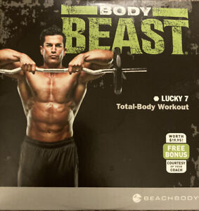 BODY BEAST Beachbody BEAST BASICS Replacement DVD. Good Condition.