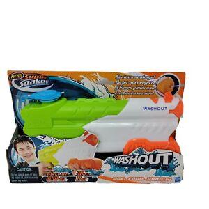Nerf Super Soaker Washout Water Pistol Gun Hasbro Toy Blaster Squirt Gun - NEW