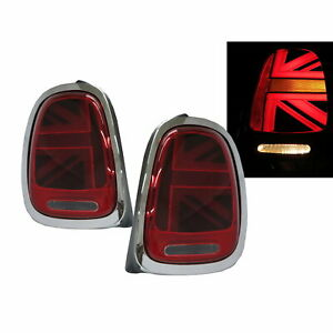 MINI F57 Third generation 13-20 Convertible 2D LED Tail Rear Light Red for MINI
