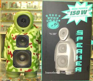 Jason Siu N-3B Camo Green Speaker LIMITED EDITION FIGURE New in Box
