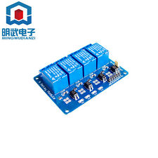 5V 4-Channel Relay Module Shield For ArduIno Arm PIC AVR DSP LW NEW