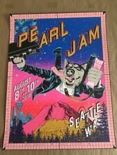 FAILE Pearl Jam Seattle 2018 Variant Edition, Signed & Numbered, Small Edition!