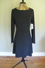 Athleta Dress S Cozy up Black Lycra Casual Athletic Travel