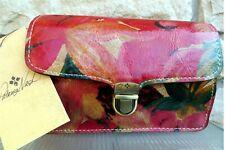 Patricia Nash NWT ARIELA CROSSBODY/Clutch Spring Multicolor Floral MSRP $159
