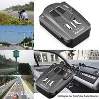 16 Band 360 Degree Car Trucker Speed Voice Alert Warning V9 Laser Radar Detector
