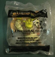 Wendy's DreamWorks Animation Boulder Bowling Shrek Kids Meal Toy NIP Happy Meal
