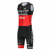 2021 V1X2Y Road Racing Cycling Skinsuit Sleeveless Jumpsuit Conjoined Padded