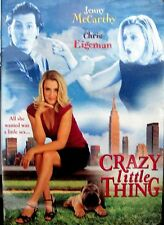 Crazy Little Thing NEW! DVD,  SEX, ROMANCE, Jenny McCarthy, Chris Eigeman