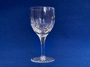 A Stuart Crystal Glencoe Clear White Wine Glass  -