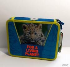 WWF-astuccio scuola 2 cerniere-maxi-leoncino-boy-