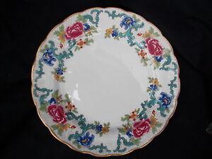 Booth's FLORADORA Dessert Plate. Diameter 21.5 cms or 8 3/8 inches