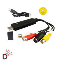 IMPROVED NEW USB 2.0 VHS To DVD Converter Video And Audio Capture Card Video