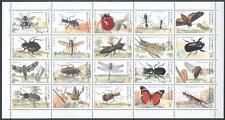 Qatar 1998 ** Mi.1111/30 Insekten Insects Schmetterlinge Butterflies Käfer