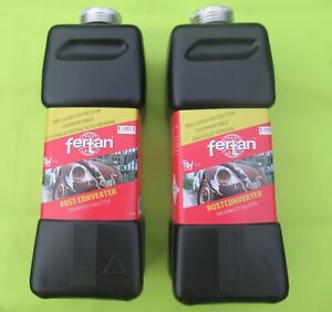 Fertan Rust Converter 1 litre for yachts, boats and shipping