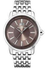 Cerruti 1881 Men's Watch CRA072SN11MS Stainless Steel Date Wristwatch New