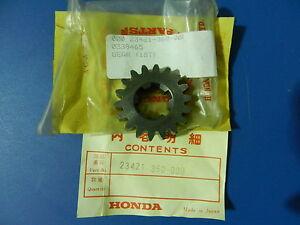 HONDA CR125M ELSINORE SECOND GEAR MAINSHAFT (18T) CR 125M CR 125 23421-360-000