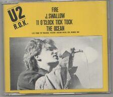 u2 - fire  rare cd single