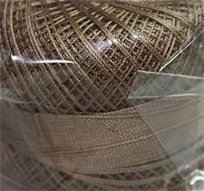 Lizbeth Cordonnet 100% Egyptian Cotton Thread -Size 40 Color 693 Medium Linen