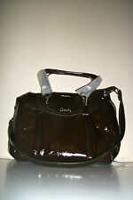 NWT Coach Brown ASHLEY PATENT SHOULDER BAG F20451 $398 Retail Sold Out @Coach
