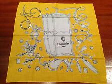 Fazzoletto Scarf CHANTECLER CAPRI - Yellow - 100% Cotton - 100% Originale