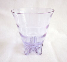 Tiffin 17430 Line Sweet Pea Vase in Twilight color with Swedish or Tiffin optic.
