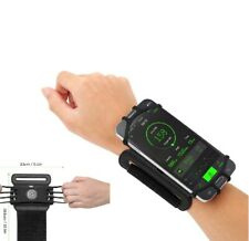 Running Phone Wristband 180° Rotatable Armband Holder Wrist Strap Cycling Gym