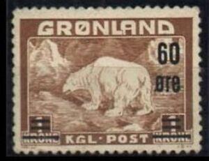 Greenland Sc 40 Mint  HR FVF