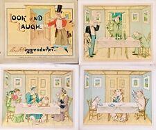 """Meggendorfer """"Look And Laugh"""" 1890, Original, Illustrated Children's"""