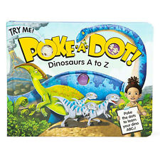 Melissa And Doug Poke A Dot 10 Dinosaurs A To Z Book NEW Toys Activity Book