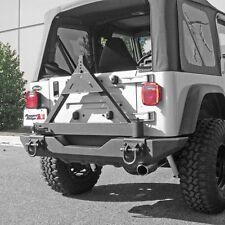 Rugged Ridge Tire Carrier Xhd Rear Bumper 76-06 Jeep CJ & Wrangler 11546.42