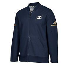 Akron Zips NCAA Adidas Men's 2018 Sideline Navy Blue Squad Bomber Jacket